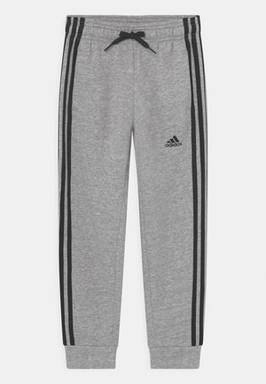 UNISEX - Pantaloni sportivi - medium grey heather/black
