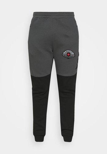 BOTTICINI JOGGER  - Pantaloni sportivi - jet black/asphalt