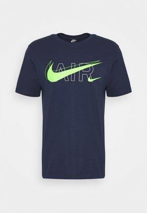 TEE AIR - Camiseta estampada - midnight navy