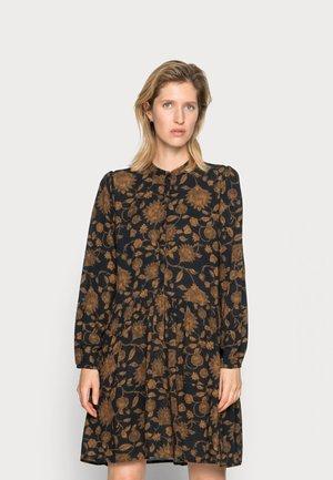 NOUK GOLDEN FLOWER DRESS - Skjortekjole - golden