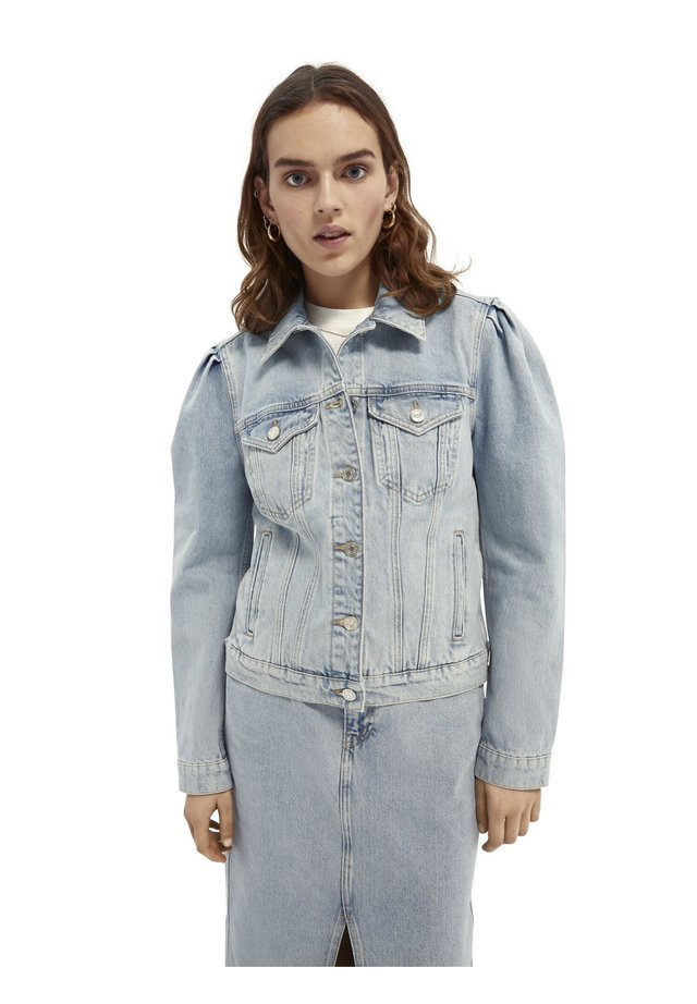 Denim jacket - powder blue