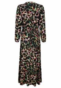 Laura Kent - KLEID - Maxi dress - schwarz tannengrün - 4