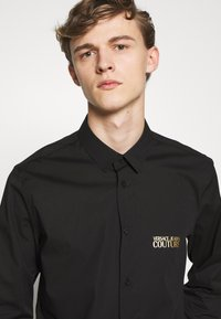 Versace Jeans Couture - BASIC LOGO - Camicia - black - 3
