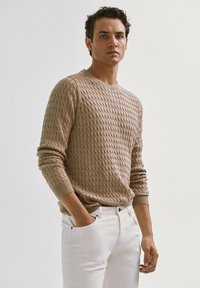 Massimo Dutti - Sweater - nude - 0