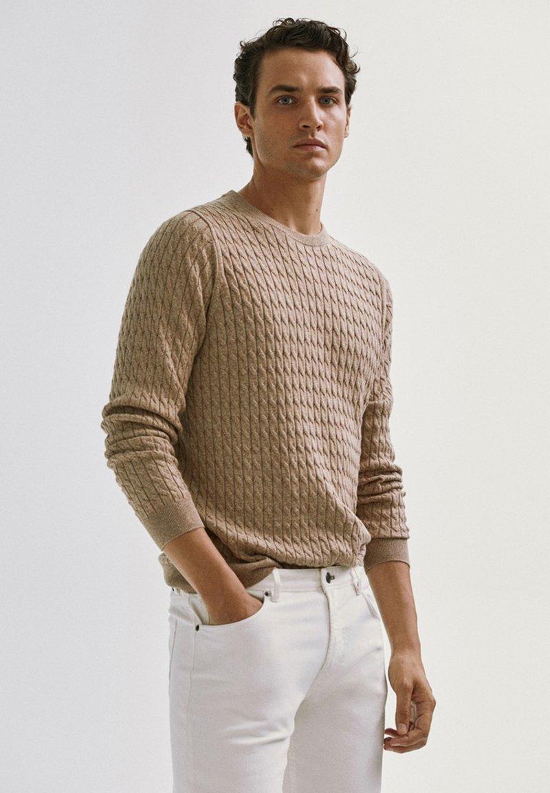 Massimo Dutti - Sweater - nude