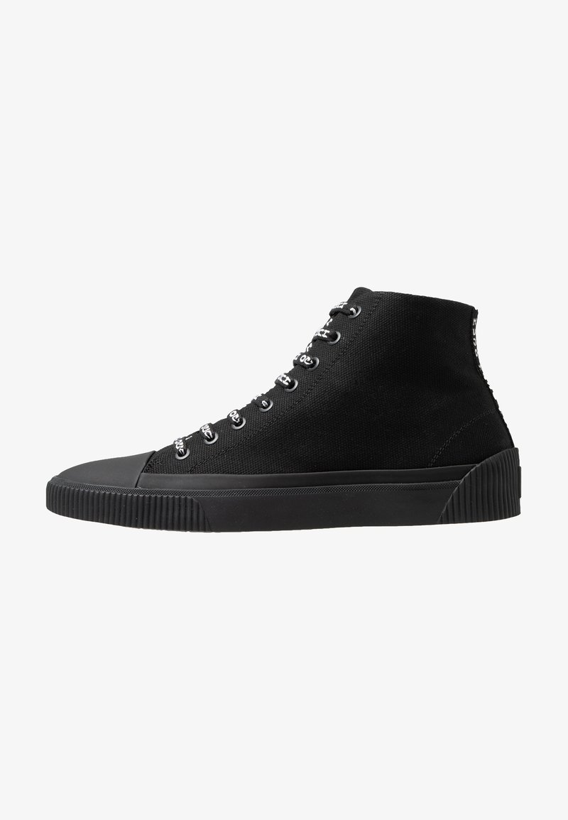 HUGO - HITO - Sneakersy wysokie - black