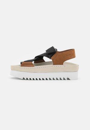 RANGER  - Platform sandals - brown