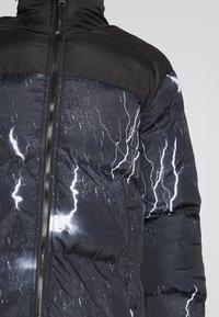 Brave Soul - LIGHTNING - Zimní bunda - black - 5
