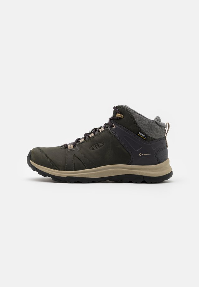 TERRADORA II MID WP - Hiking shoes - magnet/plaza taupe