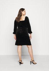 Glamorous Curve - BLACK MILKMAID DRESS - Kjole - black - 2