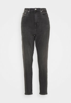 MOM COMFORT - Džíny Relaxed Fit - denim black