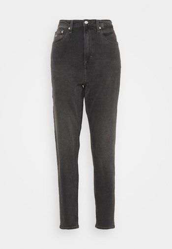 MOM COMFORT - Jeans relaxed fit - denim black