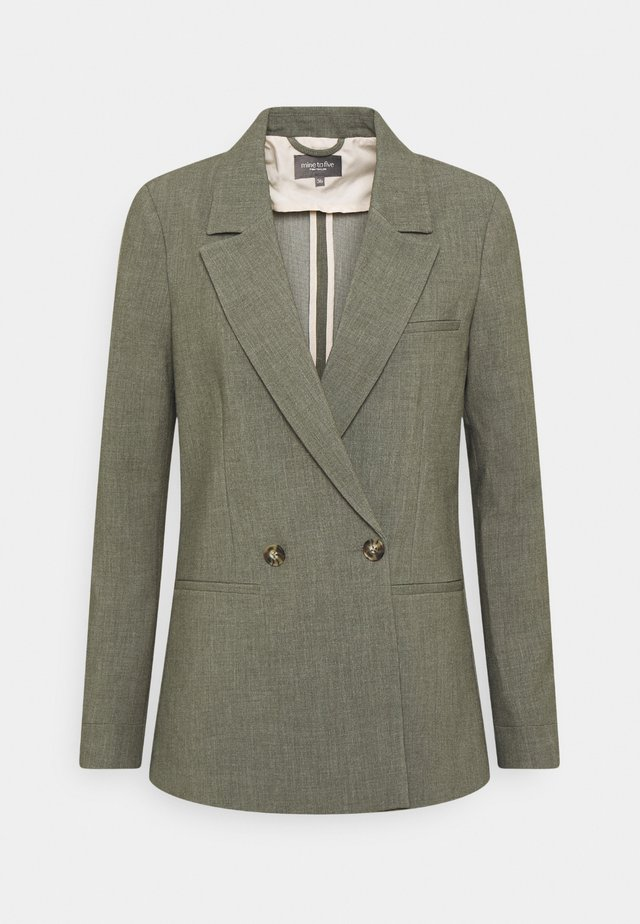 Blazer - deep leaf green melange