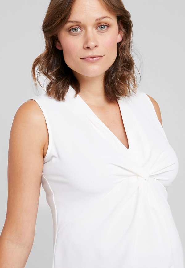 Seraphine RYLIE - Bluzka - cream/biały OISE