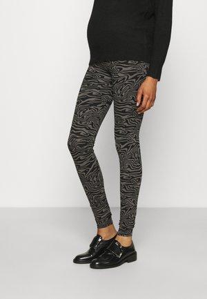 LENA - Leggings - Trousers - black