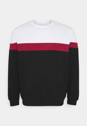 Sweater - white/red/black