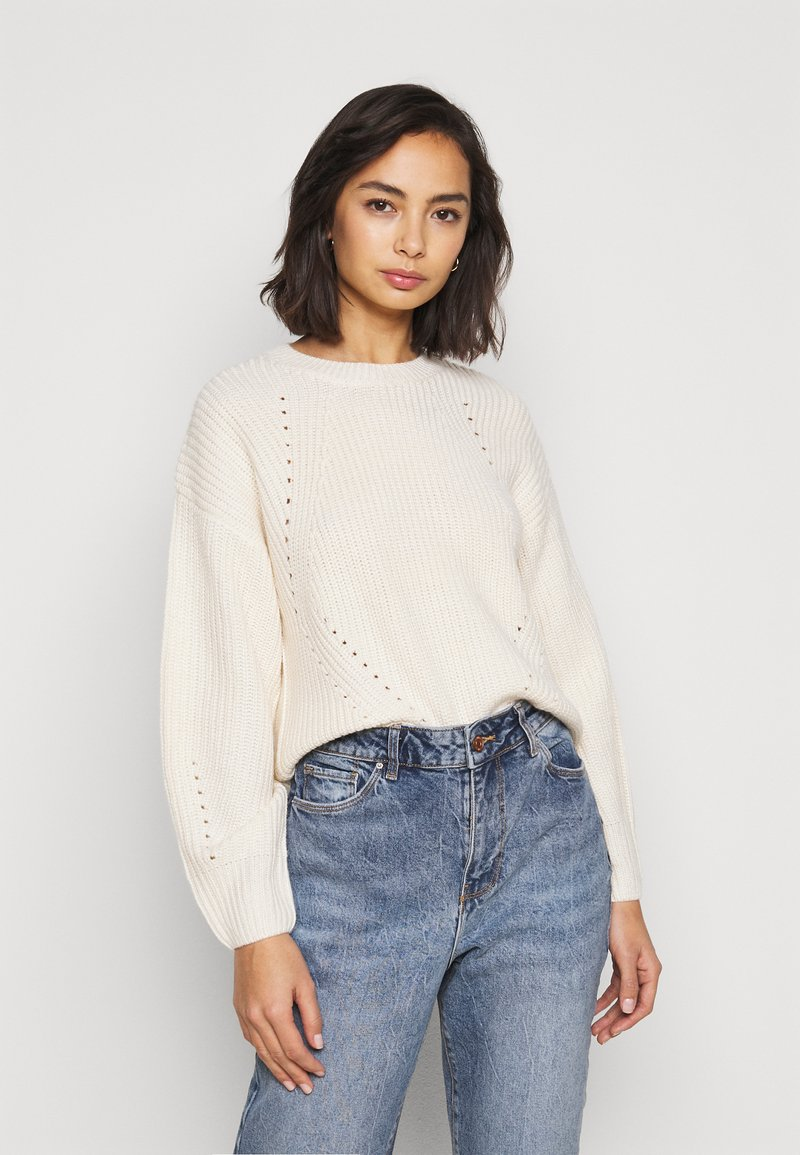 New Look Petite - FASHIONED JUMPER - Jumper - off-white