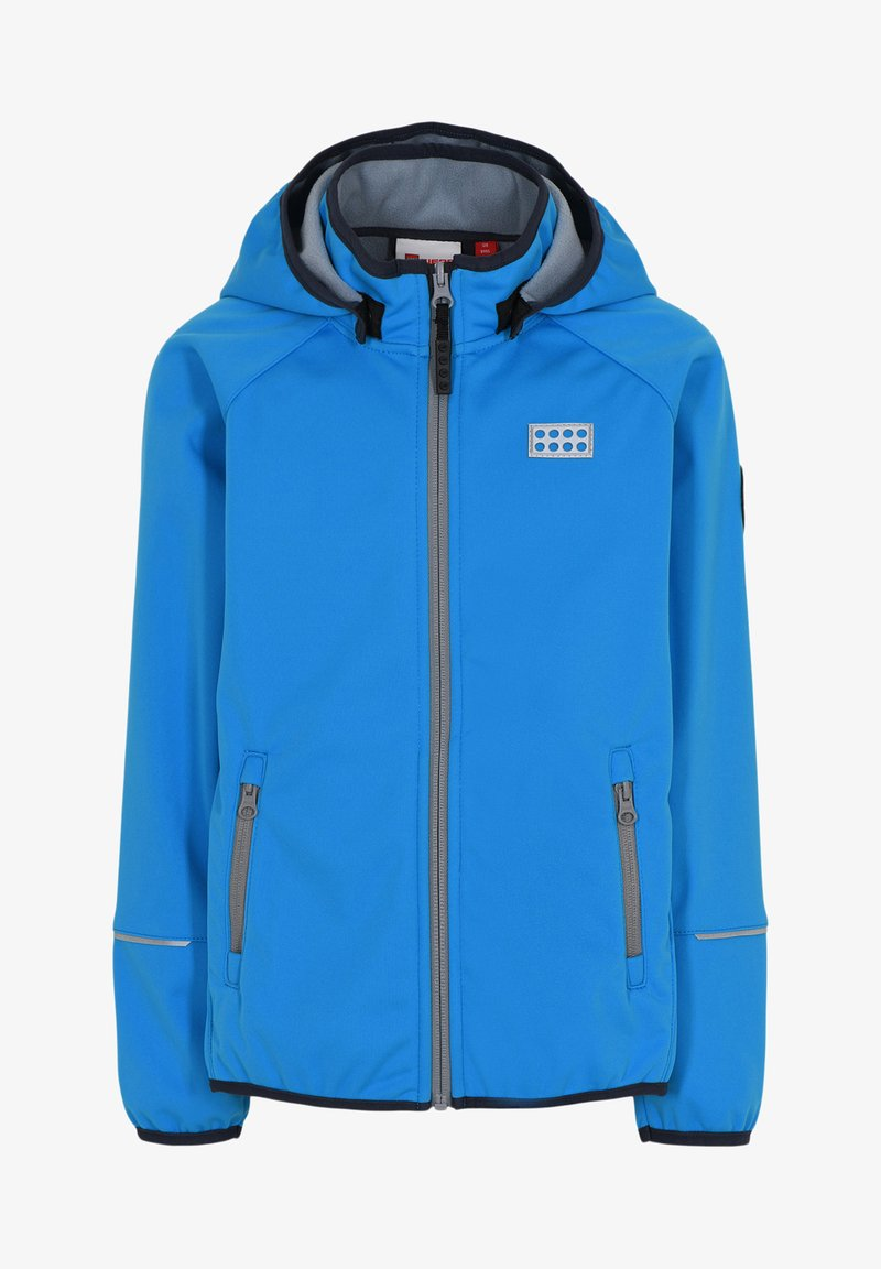 LEGO Wear - SKY UNISEX - Soft shell jacket - light blue