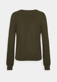 Marc O'Polo - CARDIGAN LONGSLEEVE  - Cardigan - native olive - 1