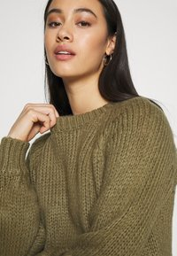 ONLY - ONLKATLA  - Jumper - covert green - 4