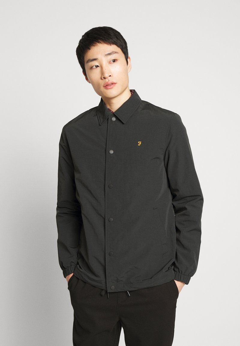 Farah - HANSA COACH - Summer jacket - deep black
