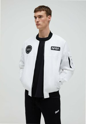 Bomber Jacket - white