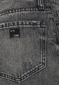 Armani Exchange - Džíny Relaxed Fit - grey denim - 2