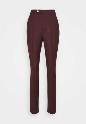 ICON RYDER PANT - Trousers - deep burgundy
