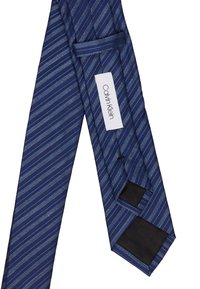 Calvin Klein - BOLD SEASON DUO STRIPE TIE - Tie - navy - 2