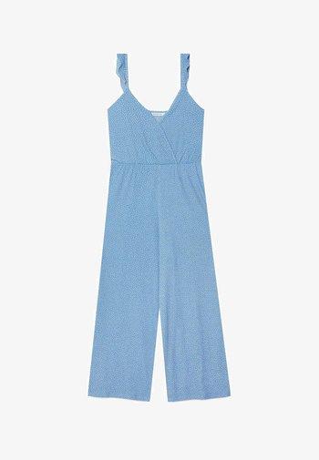 MIT TRÄGERN KONFETTI  - Jumpsuit - light blue