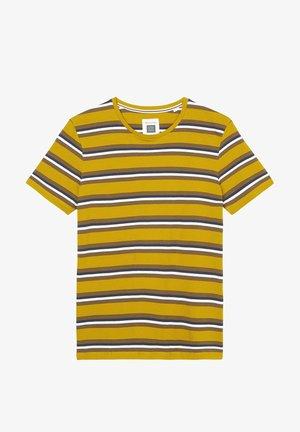 Print T-shirt - multi/ renaissance gold