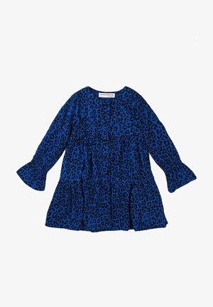 ANIMAL PRINT - Shirt dress - royal blue