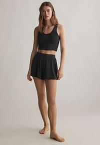 OYSHO - Pantaloni del pigiama - black - 0