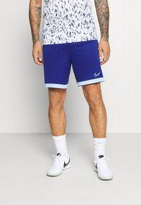 Nike Performance - DRY ACADEMY SHORT  - Sports shorts - deep royal blue/armory blue/white - 2