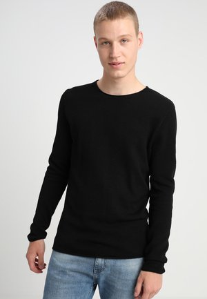 SLHROCKY CREW NECK - Jumper - black