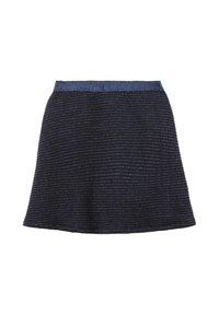 TOM TAILOR - MIT GLITZER-STREIFEN - A-line skirt - original|multicolored - 1