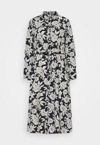 JDY - BARCELONA  - Košilové šaty - black/white - 4