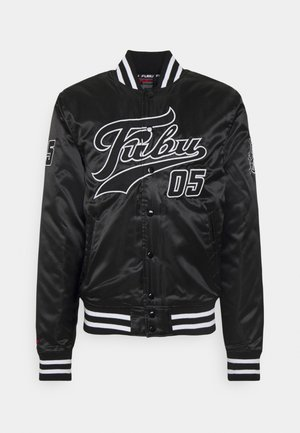 VARSITY JACKET - Bomber bunda - black