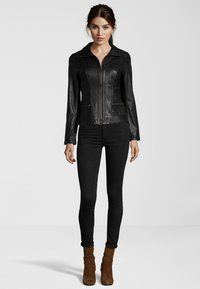 7eleven - TERRY - Leather jacket - black - 1