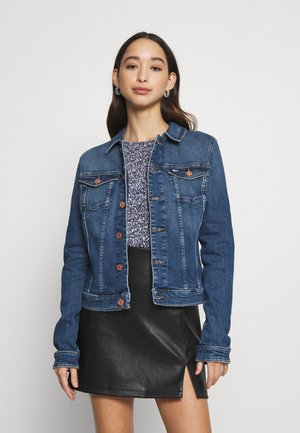 VIVIANNE SLIM - Denim jacket - harlow dark blue