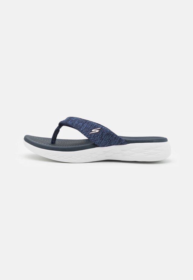 ON THE GO 600 - T-bar sandals - navy