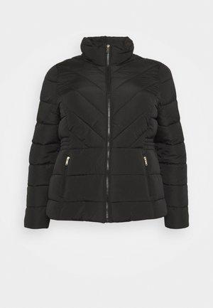 SHORT PADDED COAT - Light jacket - black