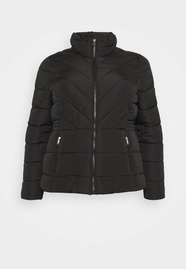 SHORT PADDED COAT - Lett jakke - black