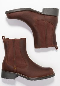 Clarks - ORINOCO HOT - Classic ankle boots - braun - 3