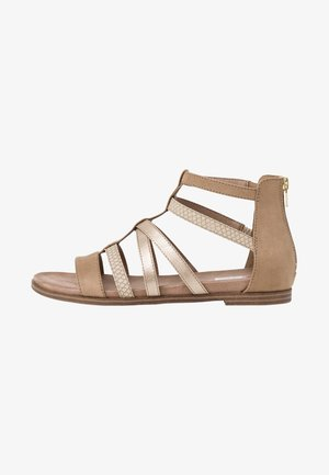 Sandals - taupe comb