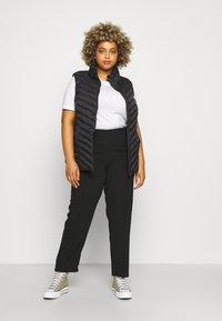 CAPSULE by Simply Be - PULL ON KAREN CREPE - Trousers - black - 1
