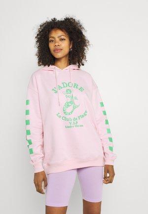 JADORE HOODIE - Sweatshirt - pink