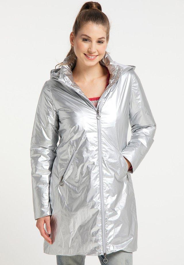 Płaszcz zimowy - silber