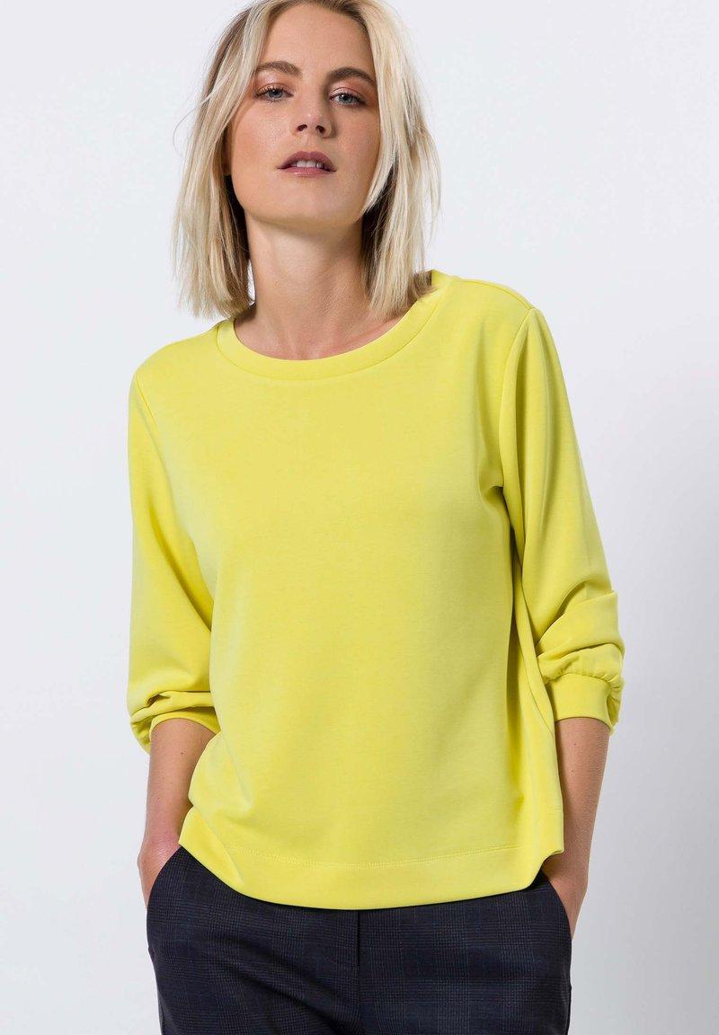 zero - Sweater - yellow lime