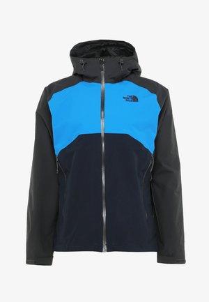 MENS STRATOS JACKET - Hardshell jacket - asphalt grey/blue/navy